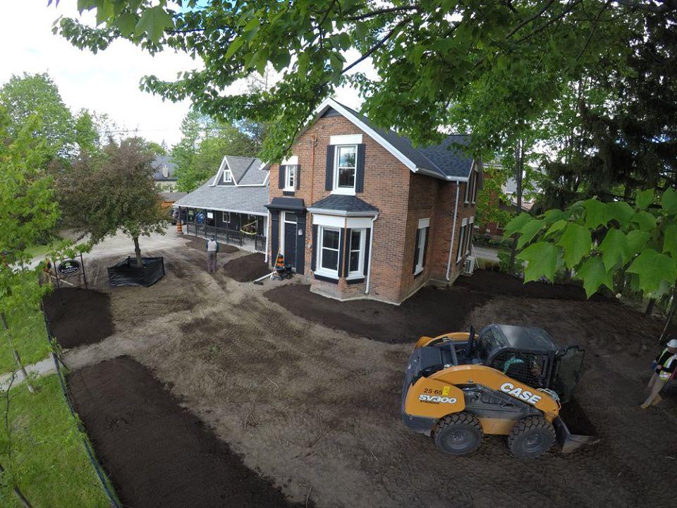 Arial View- Garden Prep