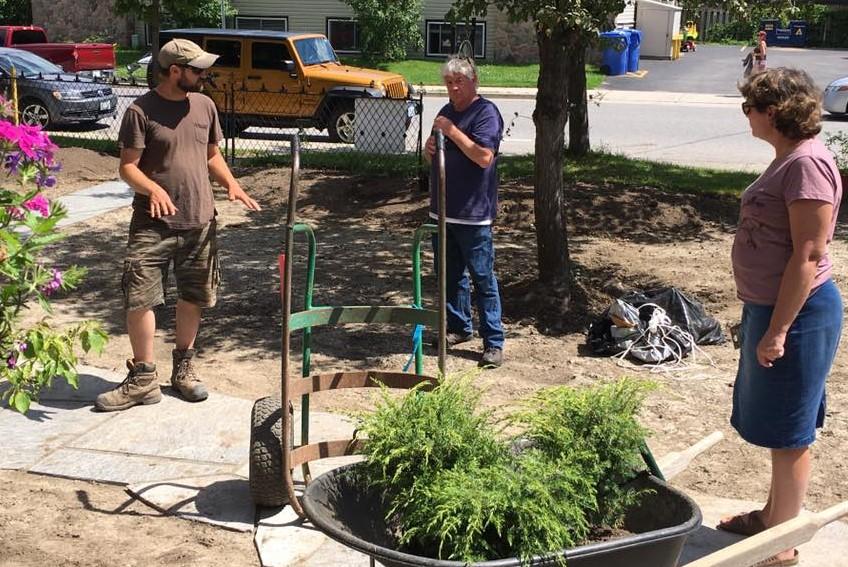 Northway Gardener's Crew + Bev